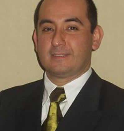 Cristian Cisternas  Director escuela de  Prevención de Riesgos